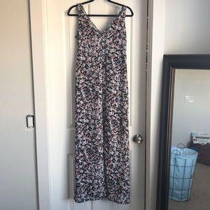 White House Black Market floral maxi/ mini dress